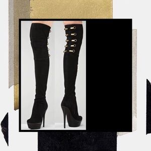 Rachel Zoe Thigh High Boots